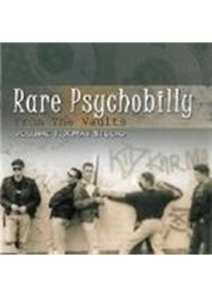 Various Artists - Rare Psychobilly From The Vaults Vol.1 (Music CD)