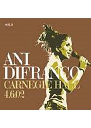 Ani Difranco - Carnegie Hall 4.6.02 (Music CD)
