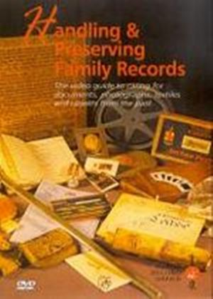 Handling And Preserving Family Records