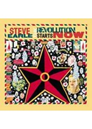 Steve Earle - The Revolution Starts Now (Music CD)