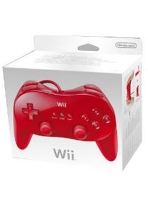 Classic Controller Pro - Red (Wii)