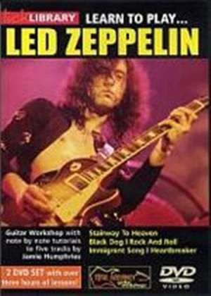 Lick Library - Learn To Play Led Zeppelin (Two Discs)