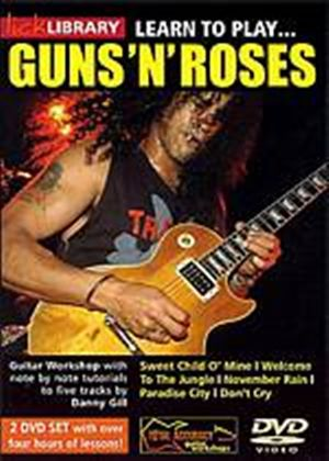 Lick Library - Learn To Play Guns n Roses (Two Discs)