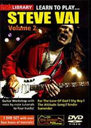Lick Library - Learn To Play Steve Vai - Vol. 2 (Two Discs)