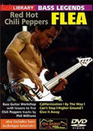 Lick Library, Bass Legends, Flea
