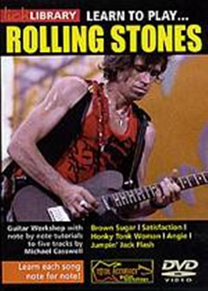 Lick Library - Learn To Play The Rolling Stones