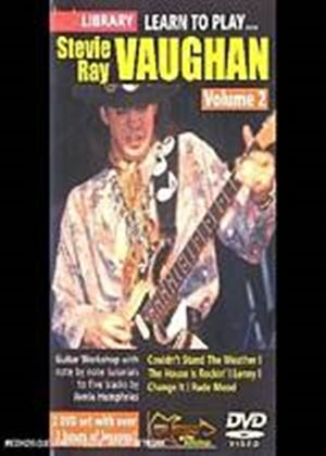 Learn To Play Stevie Ray Vaughan Volume 2