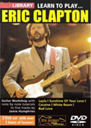 Learn To Play - Eric Clapton