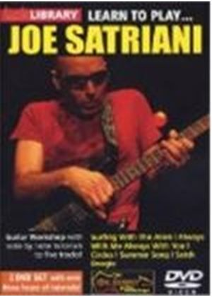 Learn To Play - Joe Satriani