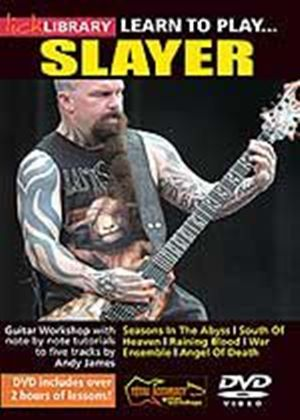 Learn To Play... Slayer
