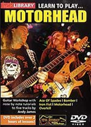 Learn To Play Motorhead