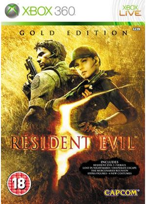 Resident Evil 5: Gold Edition - Classics (Xbox 360)