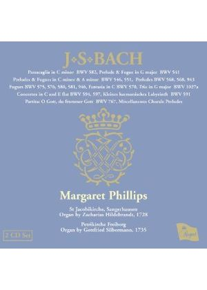 Margaret Phillips - J.S Bach: Organ Works Vol.11 (Music CD)