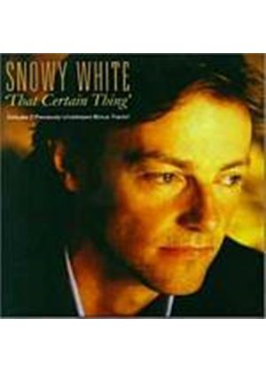 Snowy White - That Certain Thing (Music CD)