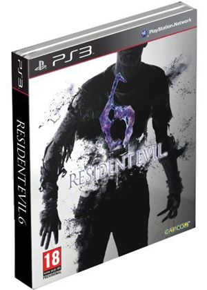 Resident Evil 6 - Steel Book (PS3)
