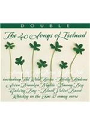Boys of the Isle (The) - 40 Songs of Ireland (Music CD)
