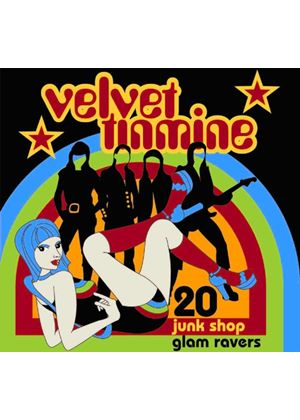 Various Artists - Velvet Tinmine (20 Junkshop Glam Ravers) (Music CD)