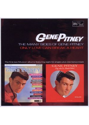 Gene Pitney - Many Sides Of Gene Pitney/Only Love Can Break A Heart (Music CD)