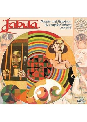 Jabula - Thunder & Happiness (The Complete Albums 1975-76) (Music CD)