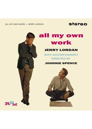 Jerry Lordan - All My Own Work (Music CD)