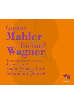 Mahler, Richard: Transcriptions for soprano & string quartet (Music CD)