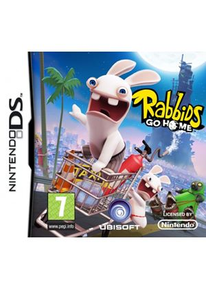 Rabbids Go Home (Rayman Raving Rabbids) (Nintendo DS)