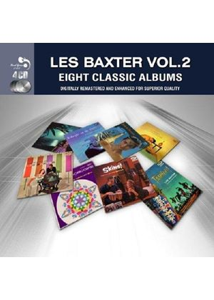 Les Baxter - Eight Classic Albums, Vol. 2 (Music CD)