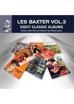 Les Baxter - Eight Classic Albums, Vol. 3 (Music CD)