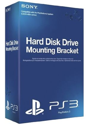 Sony PlayStation 3 Replacement Hard Disk Drive (HDD) Mounting Bracket (PS3)