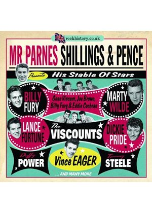 Mr Parnes Shillings & Pence - His Stable of Stars (Music CD)