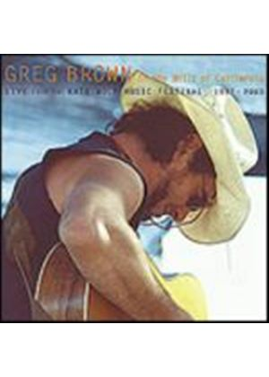 Greg Brown - In The Hills Of California - Live (Music CD)