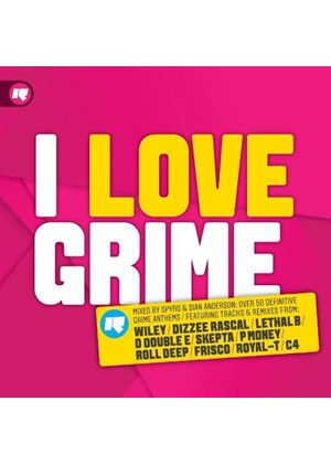 Various Artists - I Love Grime (Music CD)
