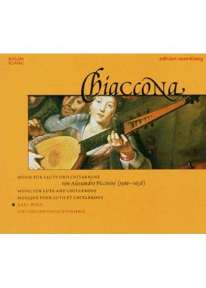 Piccinini: Works for Lute and Chitarrone