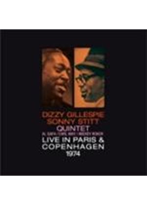 Dizzy Gillespie & Sonny Stitt - Live In Paris And Copenhagen (Music CD)