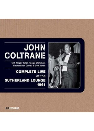 John Coltrane - Complete Live at the Sutherland Lounge 1961 (Live Recording) (Music CD)