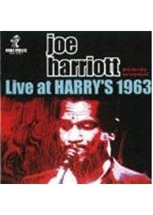 Joe Harriott - Live At Harry's 1963 (Music CD)