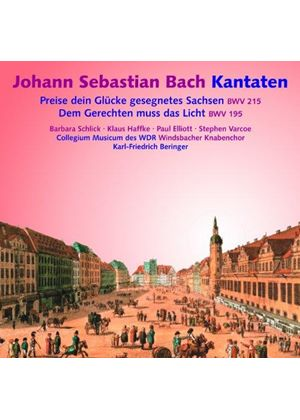 Bach: Kantaten (Music CD)