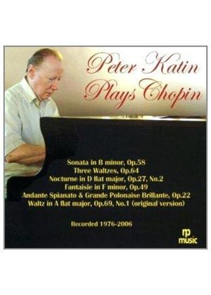 Peter Katin Plays Chopin (Music CD)