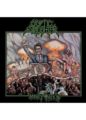 Cryptic Slaughter - Money Talks (Music CD)