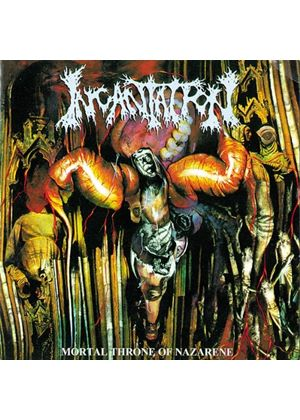 Incantation - Mortal Throne Of Nazarene (Music CD)