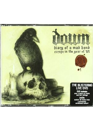 Down - Diary of a Mad Band (Europe in the Year of VI/Live Recording/+3DVD) [DVD Audio] (Music CD)