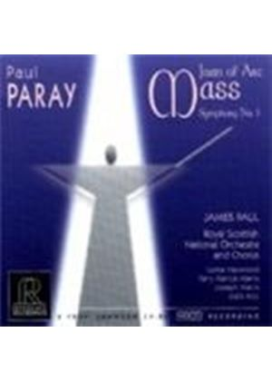 Paray: Joan of Arc Mass; Symphony No 1