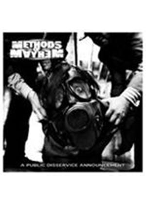 Methods Of Mayhem - A Public Disservice Announcement (Music CD)