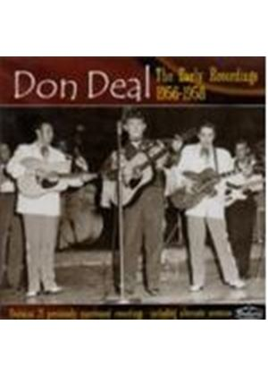 Don Deal - Early Recordings 1956-1958, The