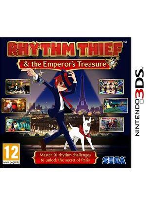 Rhythm Thief and the Emperor's Treasure (Nintendo 3DS)