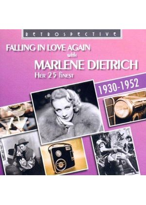Marlene Dietrich - Falling in Love Again - Her 25 Finest (Music CD)