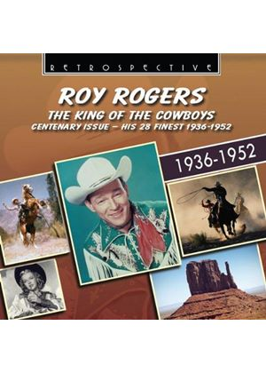 Roy Rogers - The King of the Cowboys - His 28 Finest (Music CD)