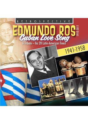 Edmundo Ros - Cuban Love Songs (His 28 Latin American Finest) (Music CD)