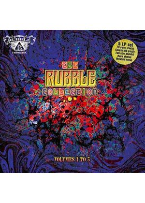 Various Artists - Rubble Collection, Vol. 1-5 (Music CD)