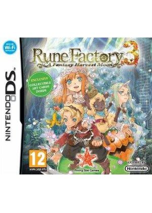 Rune Factory 3 - A Fantasy Harvest Moon (Nintendo DS)